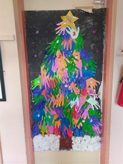 Christmas door competition